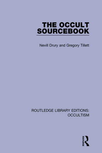 The Occult Sourcebook book cover