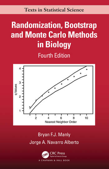 Randomization, Bootstrap and Monte Carlo Methods in Biology book cover