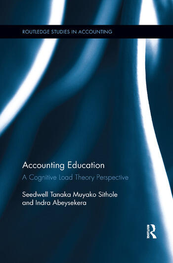 Accounting Education A Cognitive Load Theory Perspective book cover