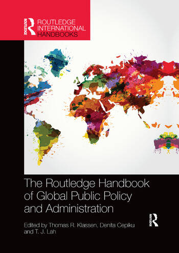 The Routledge Handbook of Global Public Policy and Administration book cover