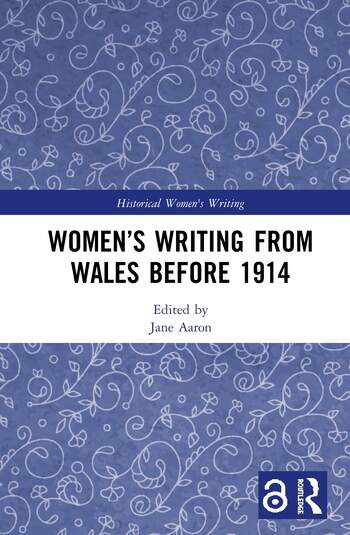 Women's Writing from Wales before 1914 book cover