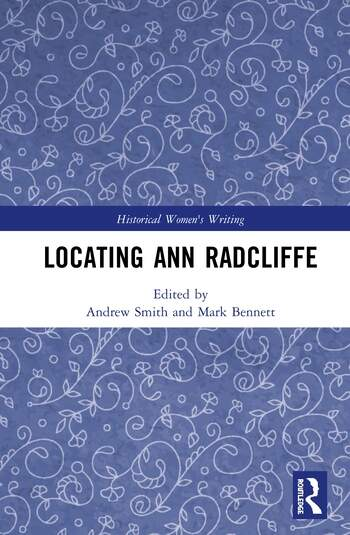 Locating Ann Radcliffe book cover