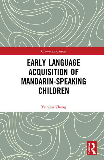 Early Language Acquisition of Mandarin-Speaking Children book cover