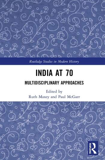 India at 70 Multidisciplinary Approaches book cover