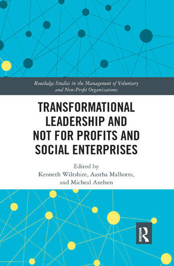 Transformational Leadership and Not for Profits and Social Enterprises book cover
