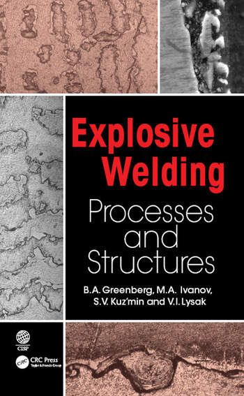 Explosive Welding Processes and Structures book cover