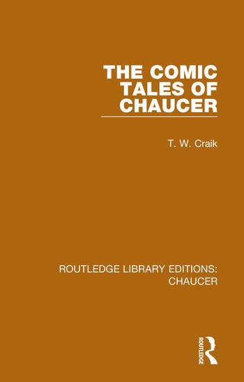 The Comic Tales of Chaucer book cover