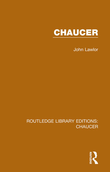 Chaucer book cover