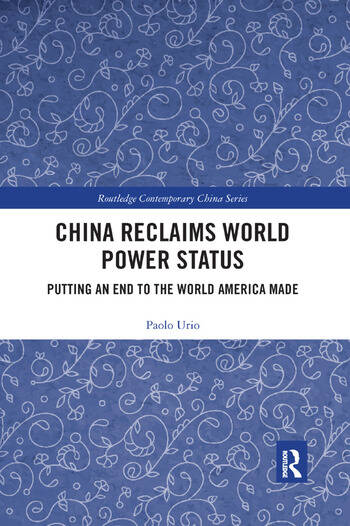 China Reclaims World Power Status Putting an end to the world America made book cover