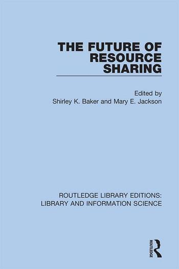 The Future of Resource Sharing book cover