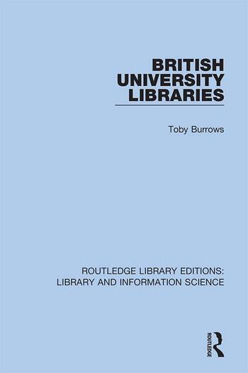 British University Libraries book cover