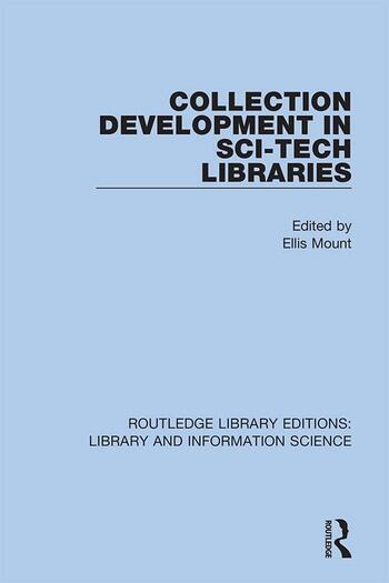Collection Development in Sci-Tech Libraries book cover