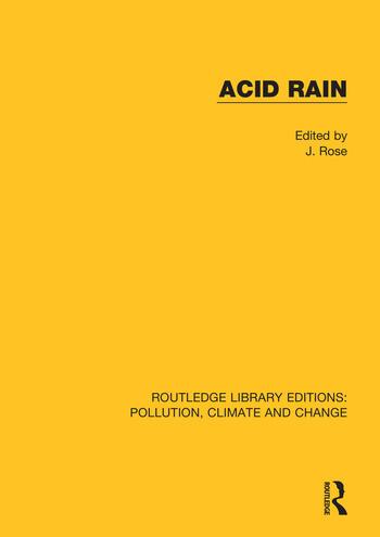 Acid Rain book cover