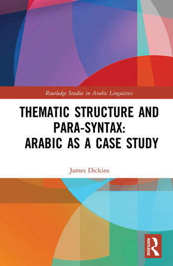 Thematic Structure and Para-Syntax: Arabic as a Case Study book cover