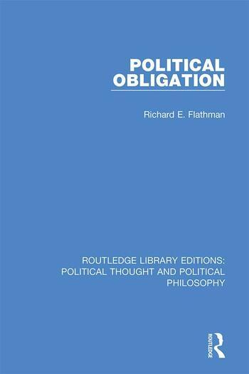 Political Obligation book cover