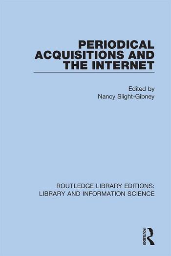 Periodical Acquisitions and the Internet book cover