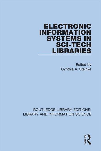 Electronic Information Systems in Sci-Tech Libraries book cover