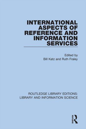 International Aspects of Reference and Information Services book cover