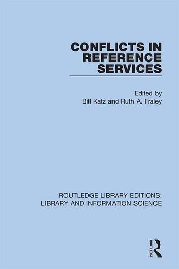 Conflicts in Reference Services book cover