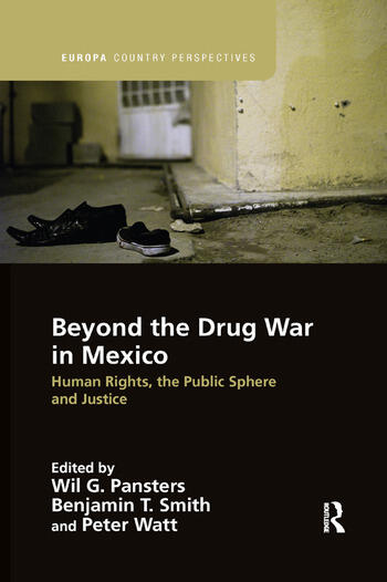 Beyond the Drug War in Mexico Human rights, the public sphere and justice book cover
