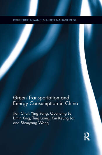 Green Transportation and Energy Consumption in China book cover