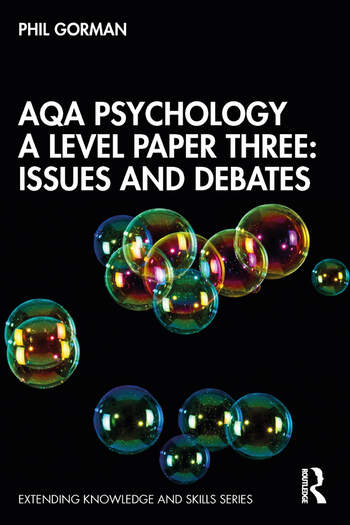 AQA Psychology A Level Paper Three Issues and Debates book cover