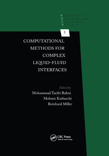 Computational Methods for Complex Liquid-Fluid Interfaces book cover