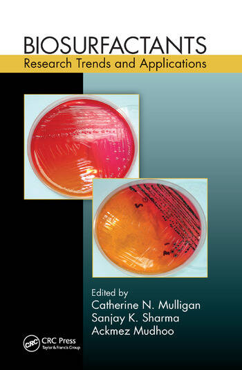 Biosurfactants Research Trends and Applications book cover