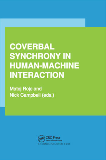 Coverbal Synchrony in Human-Machine Interaction book cover