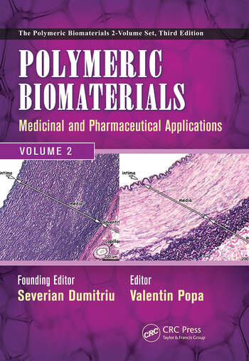 Polymeric Biomaterials Medicinal and Pharmaceutical Applications, Volume 2 book cover