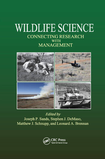 Wildlife Science Connecting Research with Management book cover