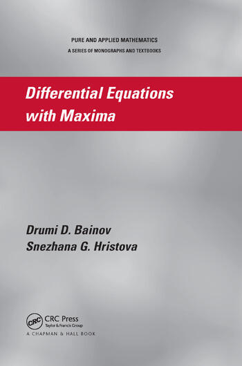 Differential Equations with Maxima book cover