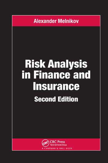 Risk Analysis in Finance and Insurance book cover