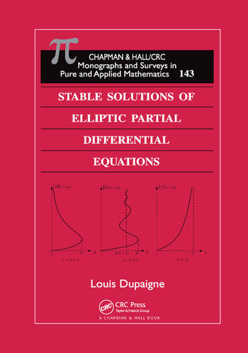 Stable Solutions of Elliptic Partial Differential Equations book cover