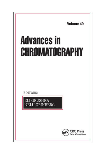 Advances in Chromatography, Volume 49 book cover