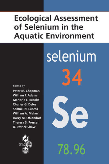 Ecological Assessment of Selenium in the Aquatic Environment book cover