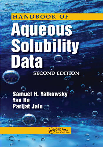 Handbook of Aqueous Solubility Data book cover