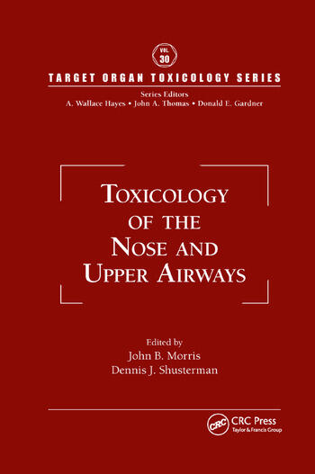 Toxicology of the Nose and Upper Airways book cover