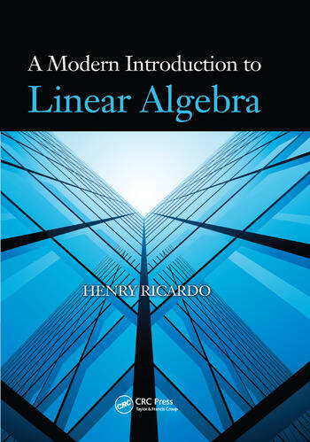 A Modern Introduction to Linear Algebra book cover