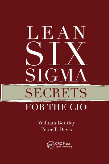 Lean Six Sigma Secrets for the CIO book cover
