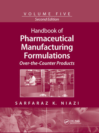 Handbook of Pharmaceutical Manufacturing Formulations Over-the-Counter Products book cover