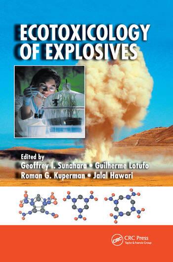 Ecotoxicology of Explosives book cover