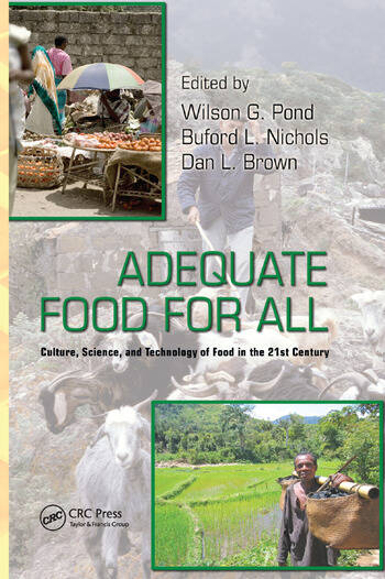 Adequate Food for All Culture, Science, and Technology of Food in the 21st Century book cover