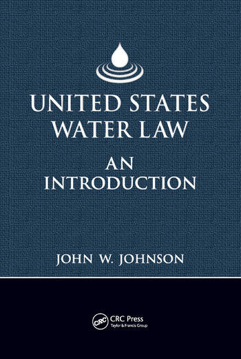 United States Water Law An Introduction book cover