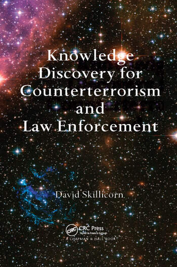 Knowledge Discovery for Counterterrorism and Law Enforcement book cover