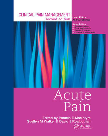 Clinical Pain Management : Acute Pain book cover