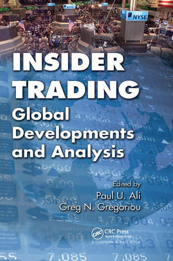 Insider Trading Global Developments and Analysis book cover