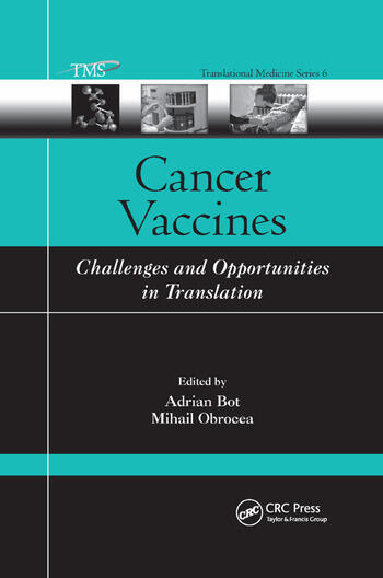 Cancer Vaccines Challenges and Opportunities in Translation book cover