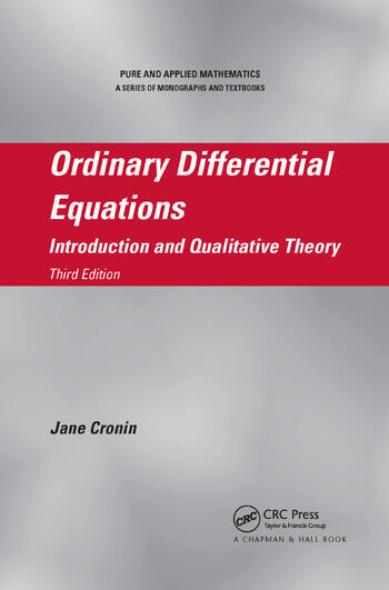Ordinary Differential Equations Introduction and Qualitative Theory, Third Edition book cover