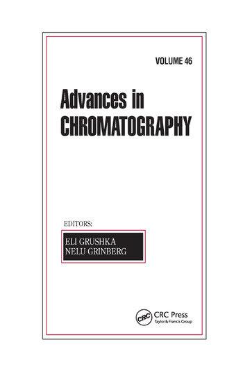 Advances in Chromatography, Volume 46 book cover